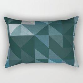:: geometric maze XIII :: Rectangular Pillow