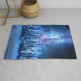 Forest under the Starlight Rug