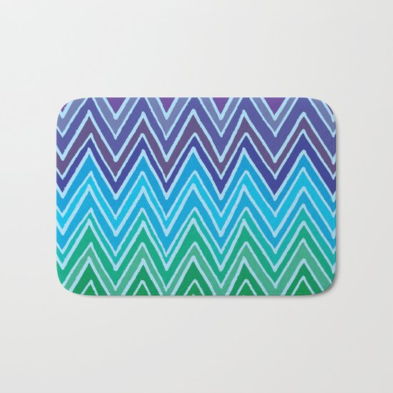 Come with me and with colors Bath Mat