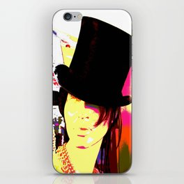 Cotton Club Topper iPhone Skin