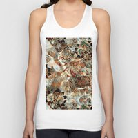 ethnic Tank Tops featuring Ethnic Pattern by RIZA PEKER