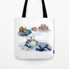 The Otter's Tea Tote Bag