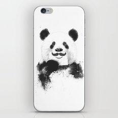 Funny panda iPhone Skin