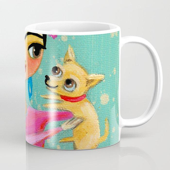 Sweet Chihuahua dog Coffee Mug