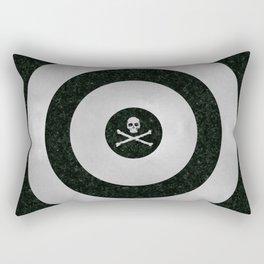Silver Target Rectangular Pillow