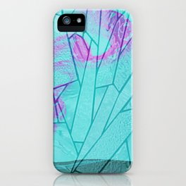 the snake window iPhone Case