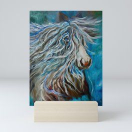 Roan Stallion II Mini Art Print