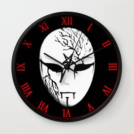 Masque of Darkness Wall Clock
