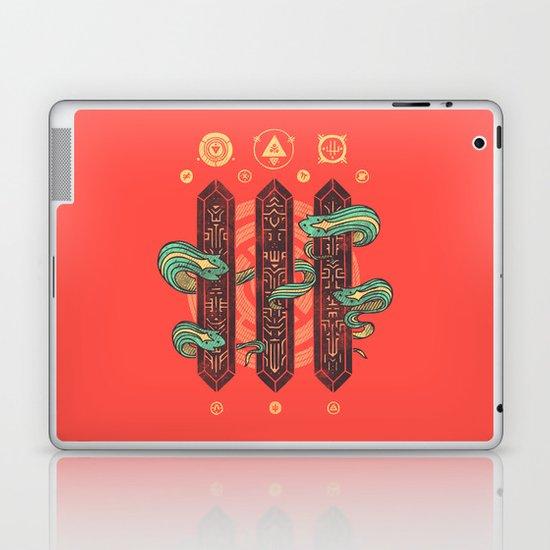 Alien Sorcery Laptop & iPad Skin