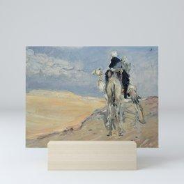 Max Slevogt Sandstorm in the Libyan Desert Mini Art Print