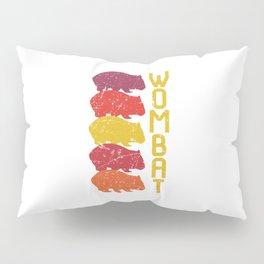 Wombat Vintage Look Pillow Sham