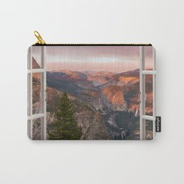 Hills through the window 2 Carry-All Pouch