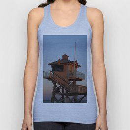 Guard Tower At Dusk Unisex Tank Top