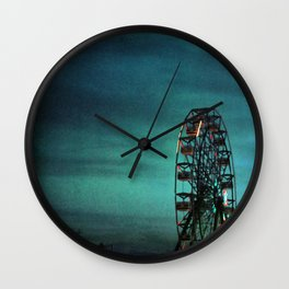 Carnival Town Wall Clock