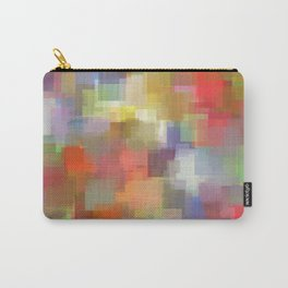 Padparadscha Cubism Carry-All Pouch