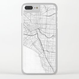 Melbourne Test 1 Clear iPhone Case