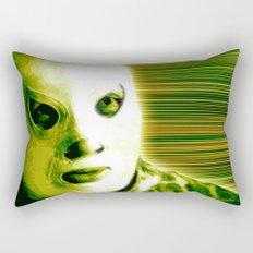 La Lucha - Green Edition Rectangular Pillow