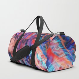 Colorful Fishpond Duffle Bag