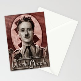 The Great Dictator - Charlie Chaplin Stationery Cards
