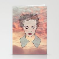 dreamer Stationery Cards featuring DREAMER by Laure.B