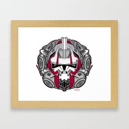 Trooper RED 1 Rogue Framed Art Print