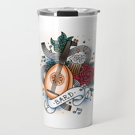 Bard - Vintage D&D Tattoos Travel Mug
