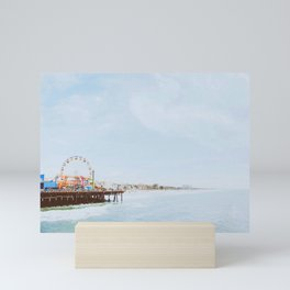 santa monica ii / california Mini Art Print