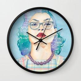 Katherine Johnson Hidden Figures Wall Clock