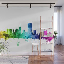 San Francisco City Skyline Wall Mural