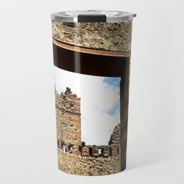 Ruins, Pompeii Travel Mug