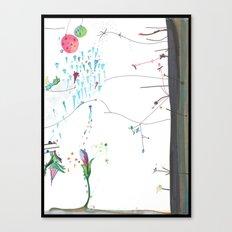 Secret Place Number 552 Canvas Print