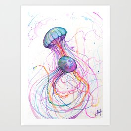You So Jelly Art Print