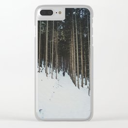 Attersee (9) Clear iPhone Case
