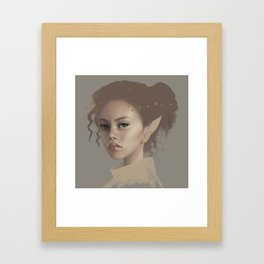ELF FAIRY Framed Art Print