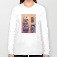 cameras Long Sleeve T-shirts featuring Cameras by tycejones