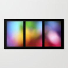 tryptic Canvas Print