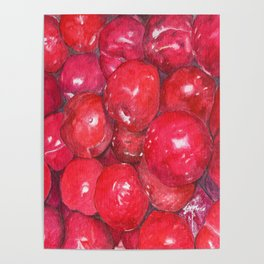 A basketful of plums Poster