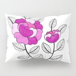 Rosette Mauve Pillow Sham