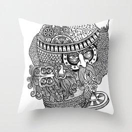 atlante Throw Pillow