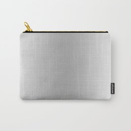 White to Gray Vertical Bilinear Gradient Carry-All Pouch