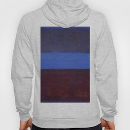 No.61 Rust and Blue 1953 by Mark Rothko Hoody
