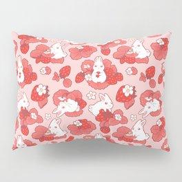 Strawbunny Delight Pillow Sham