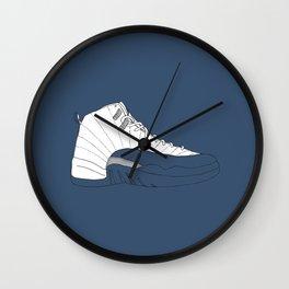 Jordan 12 French Blue Wall Clock