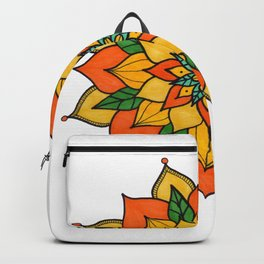 Mandala nauturaleza Backpack