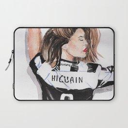 Juventus girl Laptop Sleeve