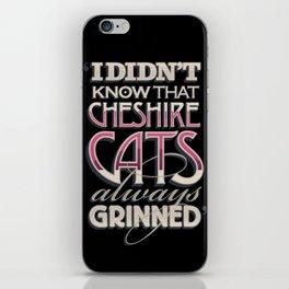 Cheshire Cats iPhone Skin