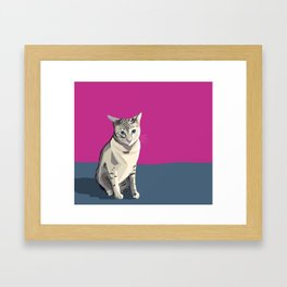 Délie Framed Art Print