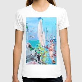 Regatta by Raoul Dufy T-shirt