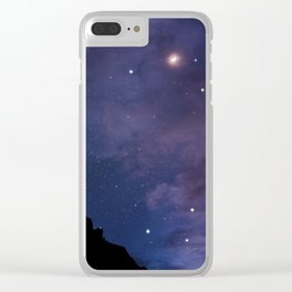 Big Bend nights Clear iPhone Case