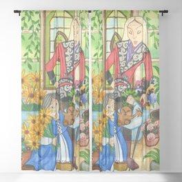 The Mandrake Root Sheer Curtain
